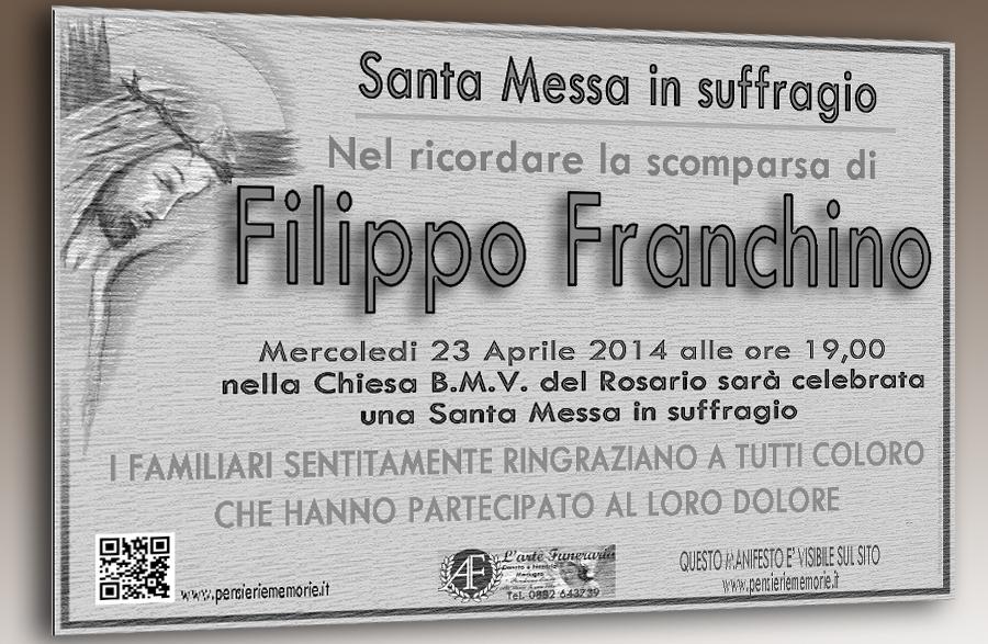 MOD2_santa messa in suffragio FILIPPO FRANCHINO