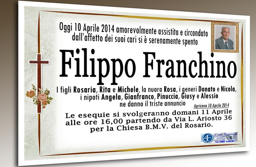 MODIFICATO_ANNUNCIO MORTUARIO FILIPPO FRANCHINO